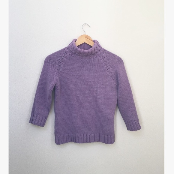 57a2873a0d GAP Sweaters - Vintage Gap Lavender Turtleneck Sweater